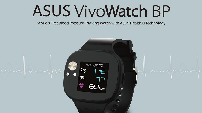 Asus unveils the VivoWatch BP, a smartwatch with the ability to take your Blood Pressure