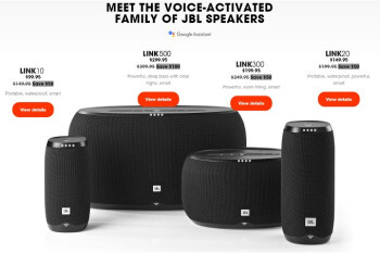 Deal: JBL running a massive sale on its Link voice-activated speakers
