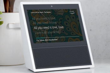 Save 35% on the Amazon Echo Show (with display); speaker is priced at $149.99 on sale