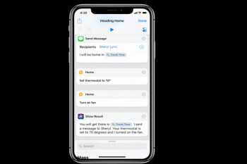 On iOS 12, Siri should be able to interact with third-party streaming media apps