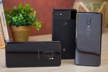 OnePlus 6 vs Galaxy S9+ vs Pixel 2 XL: low-light camera comparison