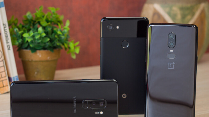 OnePlus 6 vs Galaxy S9+ vs Pixel 2 XL: low-light camera comparison