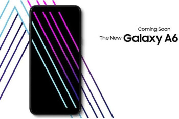 Sprint will offer the new Samsung Galaxy A6 too