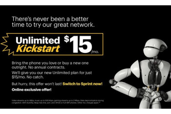 Sprint launches $15 unlimited plan available for a limited time