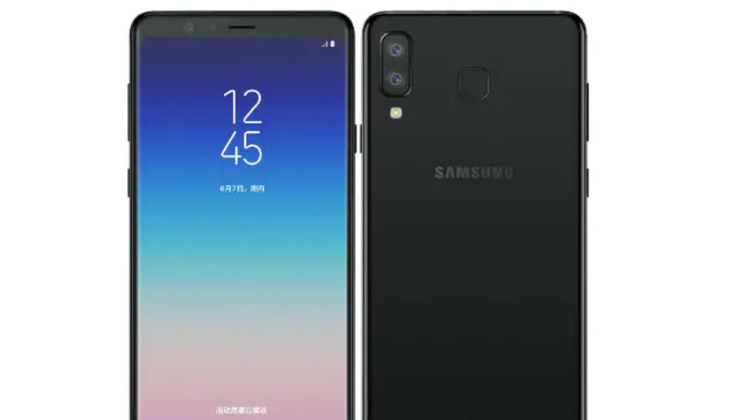 Samsung Galaxy A9 Star goes official in China with odd-looking design