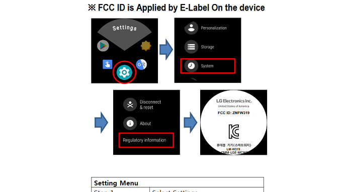 New LG Wear OS smartwatch, the LM-W319, visits the FCC