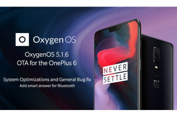 OnePlus 6 update adds portrait mode, battery percentage in status bar, more