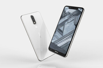 Nokia 5.1 Plus leaks in renders showing a notched display, dual rear camera