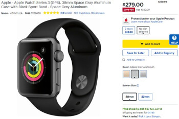 Deal: Apple's newest smartwatch is $50 off at Best Buy