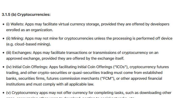 Apple verbietet Cryptocurrency-Mining-Apps vom iPhone