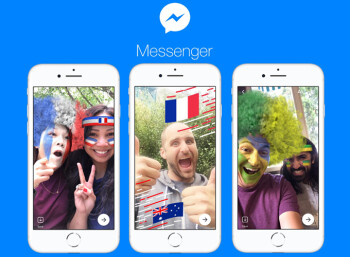 Facebook Messenger updated with World Cup-themed games, filters and effects