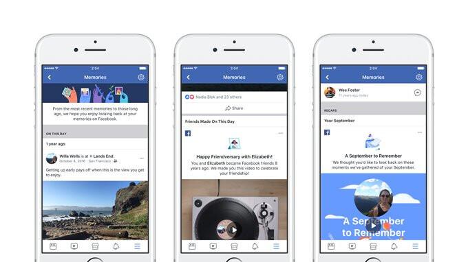 Facebook startet Memories, einen einzigen Ort, an dem Sie Momente finden, die in der Vergangenheit