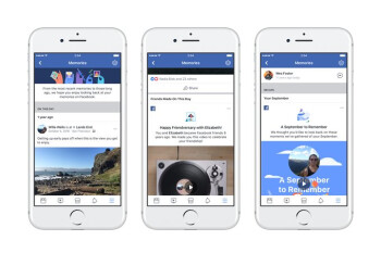 Facebook launches Memories, a single place where you can find moments shared in the past
