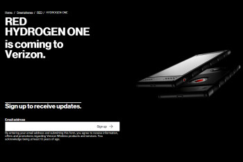 RED Hydrogen One pre-registrations are now live on Verizon's website