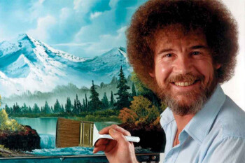 The soothing voice of Bob Ross comes to meditation app Calm