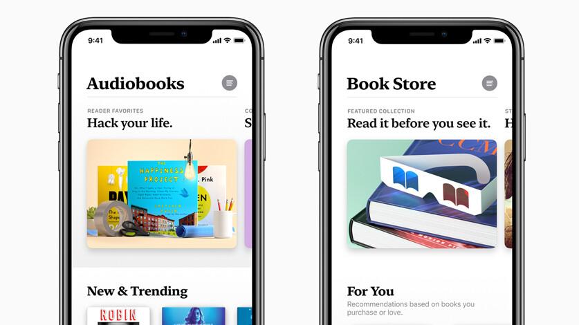 Apple showcases new Books app