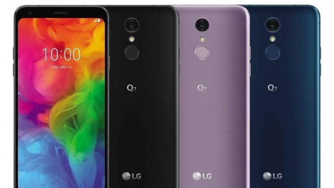 Price point of the LG Q7 series is revealed in South Korea, not exactly cheap