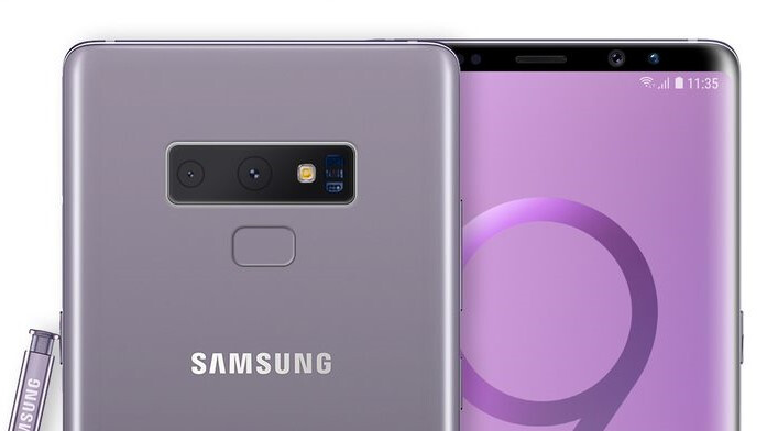 The Galaxy Note 9 may include a physical shutter button that can also take screenshots
