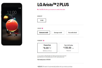For $150, T-Mobile's LG Aristo 2 Plus supports 600MHz band; phone is now available