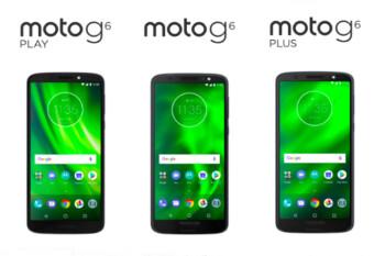 Kernel source code released for Motorola Moto G6 and Moto G6 Plus