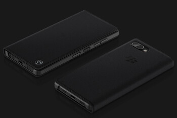 Check out two official cases that will be available for the BlackBerry KEY2