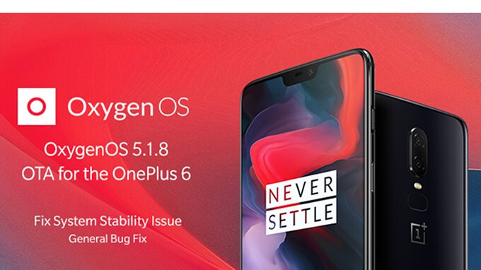 OnePlus 6 update optimizes call quality, fixes various issues