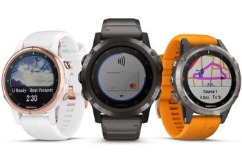 Garmin unveils the Fenix 5 Plus rugged smartwatches, prices start at $700