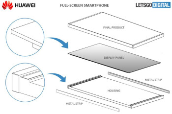 Huawei looks to the future with new bezel-less design patent