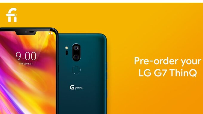 LG V35 ThinQ and LG G7 ThinQ now available for pre-order on Project Fi