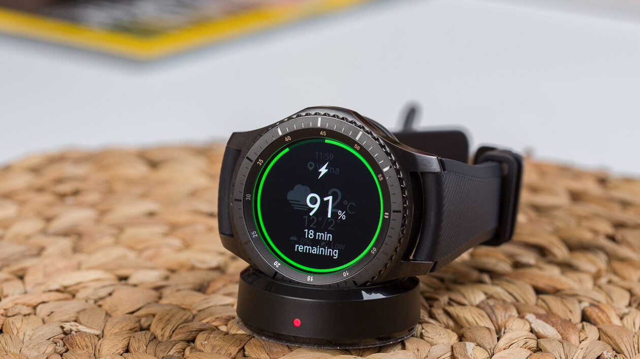 samsung gear s4 wireless charger receives certification. Black Bedroom Furniture Sets. Home Design Ideas