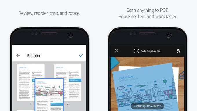 Adobe Scan Ist Die Beste App Um Visitenkarten In Kontakte
