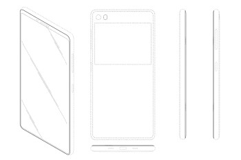 New Samsung Galaxy patent reveals a bezеl-less phone with two screens