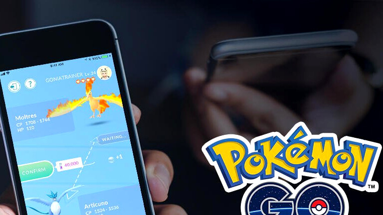 Pokemon Go's trading system is now live, gift a friend!