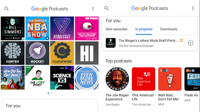 Google Podcasts receives 'Trim silence' feature in latest update