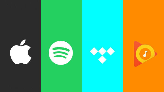 Apple Music, Google Play Music, Spotify, or Tidal: which one