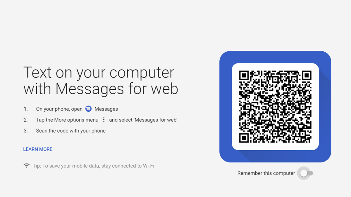 Android Messages for web goes live for everyone