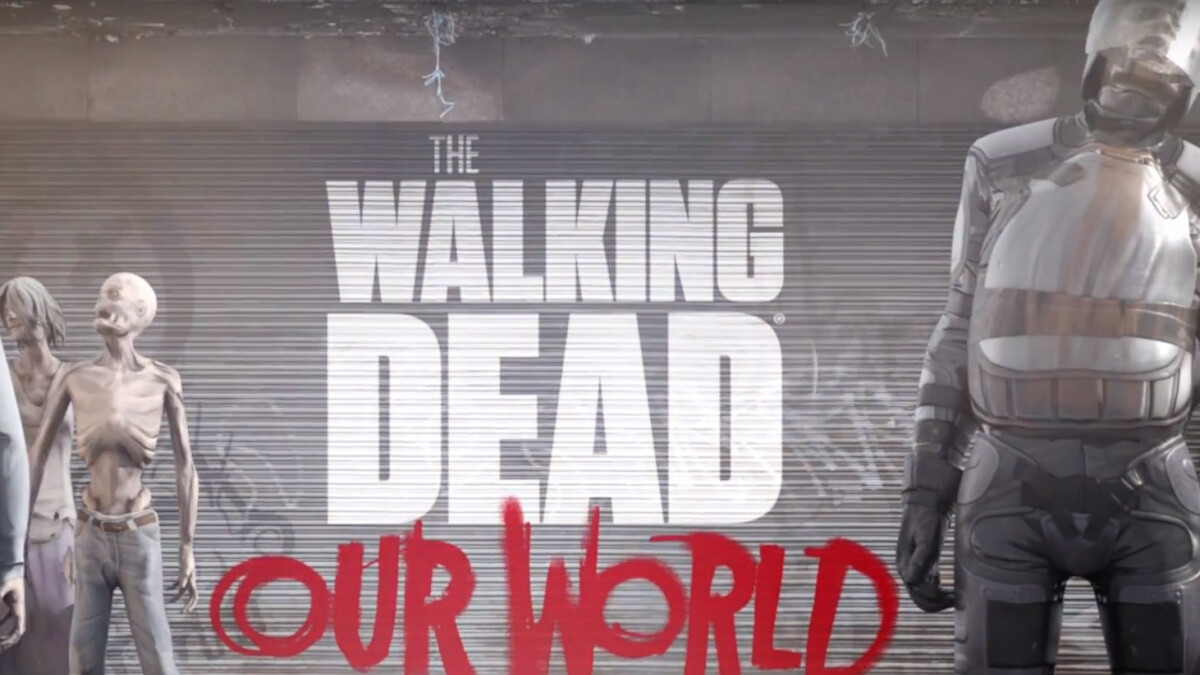 The Walking Dead: Our World is Pokemon Go but with zombies, coming on July 12