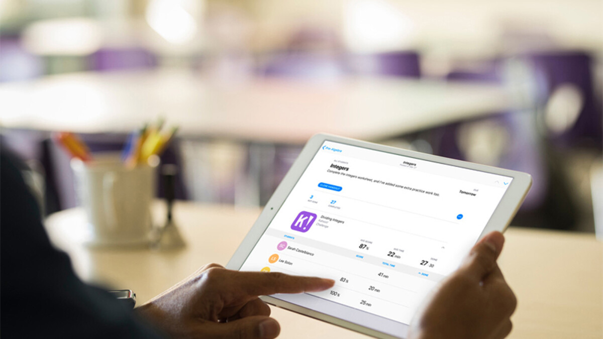 Apple's free Schoolwork app is now available for teachers