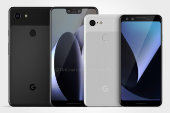 Google Pixel 3 and Pixel 3 XL leak out entirely in new 360-degree renders