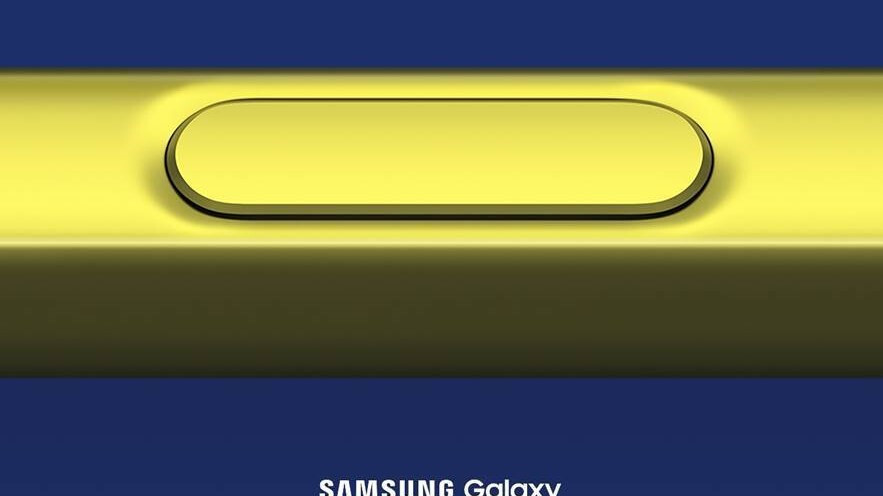 Samsung confirms Galaxy Note 9