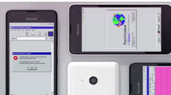 This concept shows the hellish mashup of Windows 95 and Windows Phone