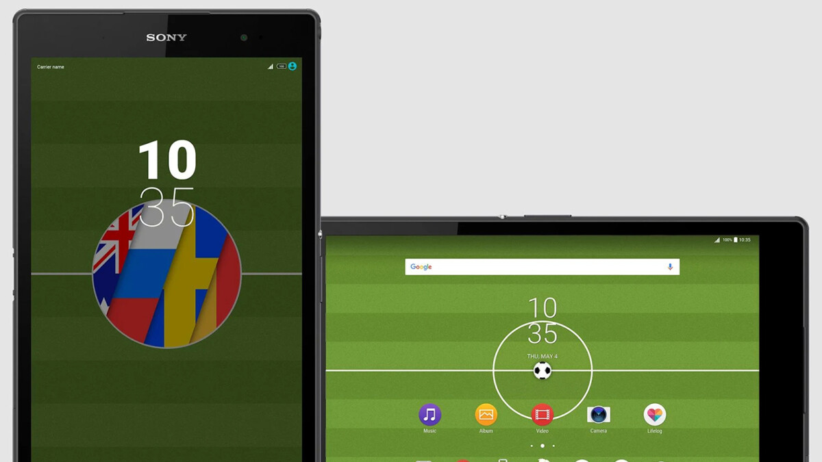 Sony releases new Xperia Football 2018 Theme for soccer fans