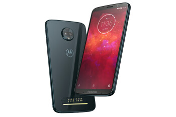 Verizon certifies the Moto Z3 Play for use on its network, but it will not sell it directly