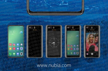 Leaked official teaser for unannounced ZTE Nubia Z18S shows a screen on both sides of the device