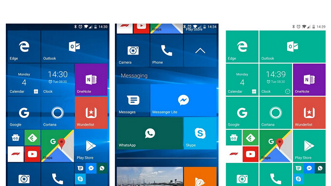 Launcher for Android that copies Windows Phone home screen receives an update