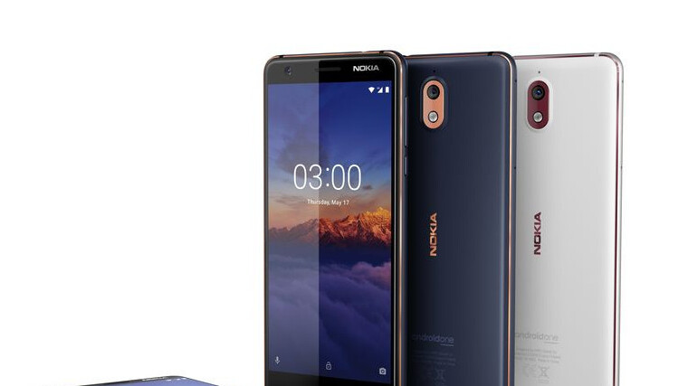 Unlocked Nokia 3.1 goes on sale in the United States for $160
