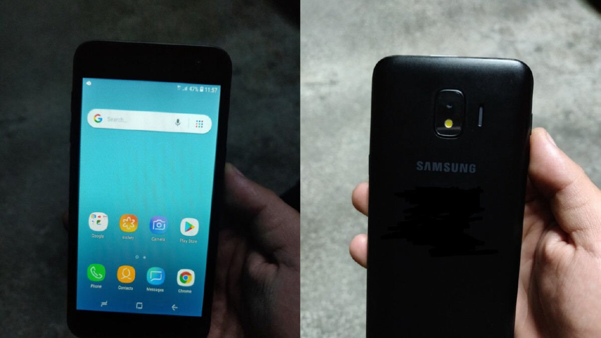 Samsung's Android Go device won't ship with stock Android, images reveal