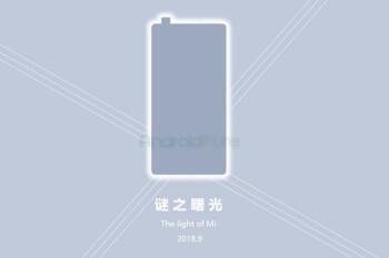 Alleged Xiaomi Mi Mix 3 teaser hints at pop-out camera, September release