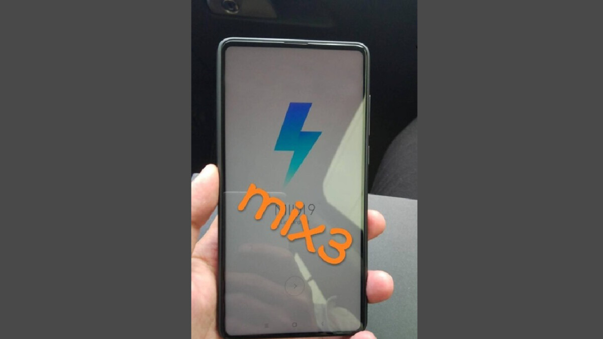 Xiaomi Mi Mix 3 leaks out once again reconfirming new design approach