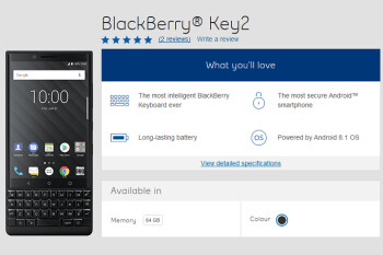 BlackBerry KEY2 launches in Canada one week ahead of its U.S. release